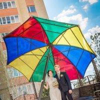 Любовь под зонтиком :: Кристина Ивчик