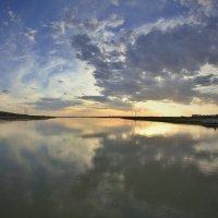 Закат на Сырдарье :: Константин