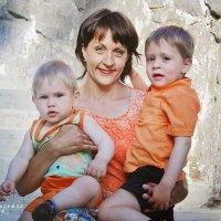 Счастливая мама! :: Надежда Подчупова