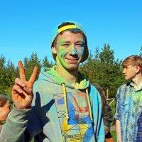 Северодвинск. Фестиваль красок. Колоритный :: Владимир Шибинский