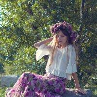 Утром в лесу :: Алена Маринц