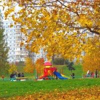 Осень.Раменки. :: Александр Атаулин