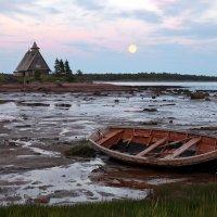Отлив на Белом море в белую ночь :: Валерий Князькин