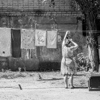 Во дворе :: Алексей Самошин