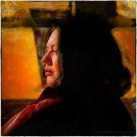 женский портрет в транспорте :: Станислав Лебединский