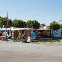 Фанес-кафе у городского пляжа :: Борис Иванов