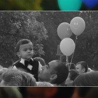 Про 1 сентября: Мальчик и шарики :: Сергей Иванов