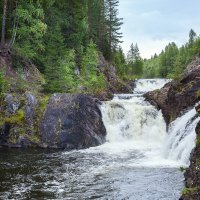 водопад Кивач, Карелия :: Марина Ионова