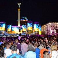 24 августа 2015 г. на Майдане Независимости :: Валентина Данилова