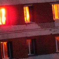 пожар заката в окнах :: Александр Прокудин