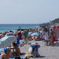 Ялта-пляж :: Slava Hamamoto