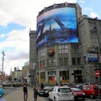 Здание Центрального телеграфа в Москве. :: Елена