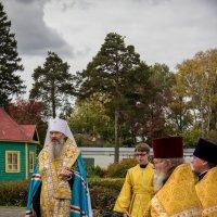 Троицкий храм. Освящение. :: Дмитрий Пислигин