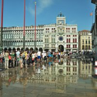 Прилив на площади Сан-Марко. Венеция :: Юрий Воронов