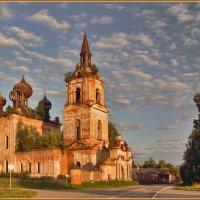 Церковь Покрова Пресвятой Богородицы в Веретее, 1792 :: Дмитрий Анцыферов