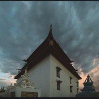 храм-монастырь Гандан. Монголия. :: Алексей Хвастунов