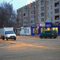 Вечер в нашем тихом городке :: Валентин Кузьмин