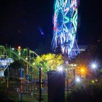 парк ночью :: Виктор Караев