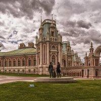 Прогулка по Москве, Царицынский дворец :: Владимир Демчишин