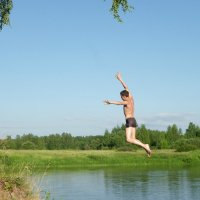 Смелый прыжок  (вар. 1) :: Святец Вячеслав