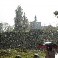 солнце,дождь и град :: ЕЛЕНА КОЛЕСНИК