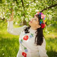 королева цветов :: александр лебеденко