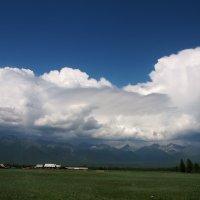 Над облаками-только небо :: Александр Попов