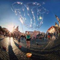Фея мыльных пузырей... :: Roman Mordashev