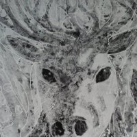 Современное китайское искусство. Рисунок оленя. :: Светлана Калмыкова