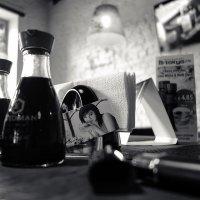 Моя любимая Рига ... Кафе ... И только нам - тихо играет Жобим ... :-) :: Михаил Палей