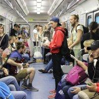 Музыканты в метро :: Вера Моисеева