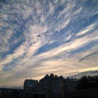 Небо сегодня утром. 10.09.15 :: Лена