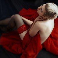 красное на черном :: Лара Степаненко