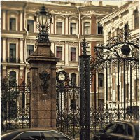 My magic Petersburg_01488  ул. Моховая :: Станислав Лебединский