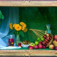 Картина с выставки.. :: Юрий Стародубцев