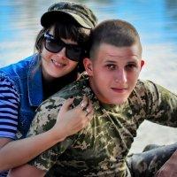 Я с Любимым Братом!!! Мой Солдатик......... :: Света Кошкарова