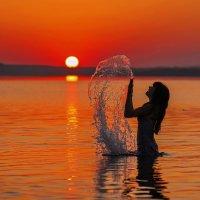 На закате. :: Альмира Юсупова