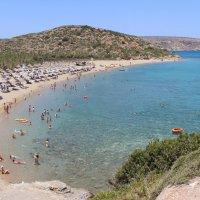 Beach Bai на острове Крит :: Sergey Lebedev