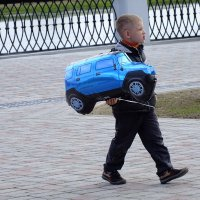 счастливый обладатель нового  авто :: Александр Прокудин