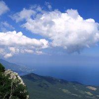 Облака над побережьем :: Марина Дегтярева