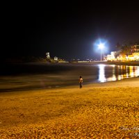 Ночь на пляже. :: Иван Шмулич