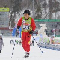 Японский лыжник :: сергей ершов