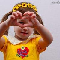 моё сердечко, которое бегает отдельно :: Виолетта Костина