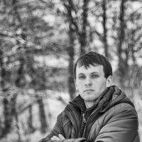 портрет в черно-белом :: Алексей Жариков