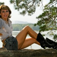 Отпуск на озере :: Светлана Игнатьева