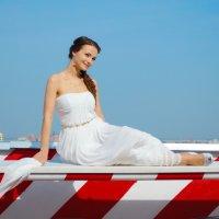 Леди in white :: Elena Balatskaya