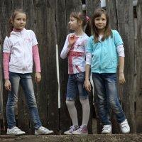 Девчонки с нашего двора #1 :: Фаниль Нуриазданов