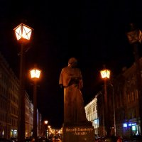 Ночь на бульваре. :: Константин Иванов