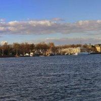 Нева от Благовещенского моста до Дворцового :: Irina *****