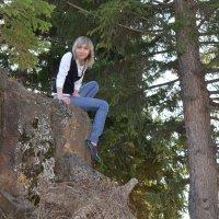 на скале :: Виктория Большагина